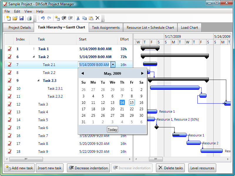 Click to view Project Manager 4.1.0 screenshot